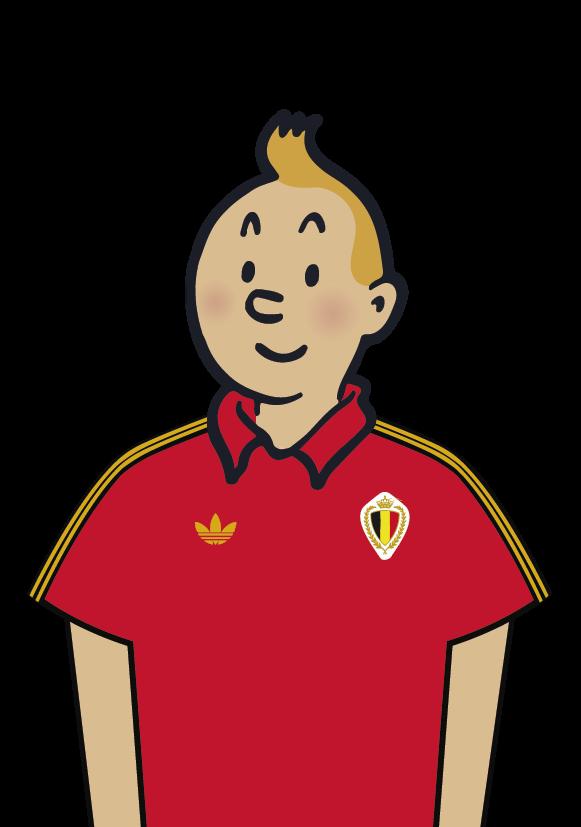 Tintín Bélgica Fútbol