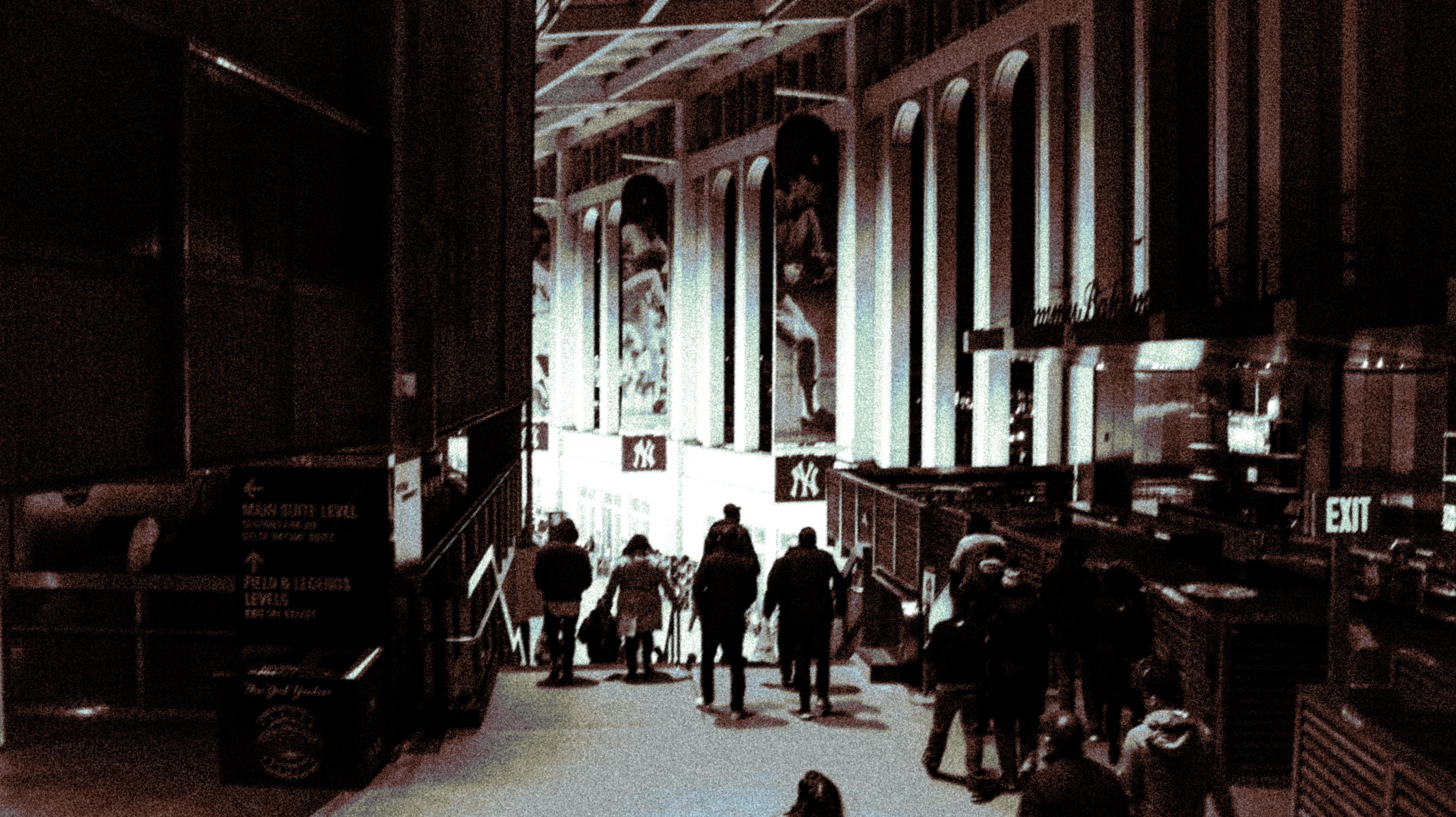 Interior Yankee Stadium