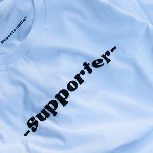 Camiseta Supporter blanca