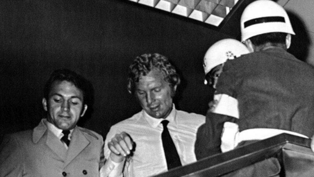 Bobby Moore detenido 1970