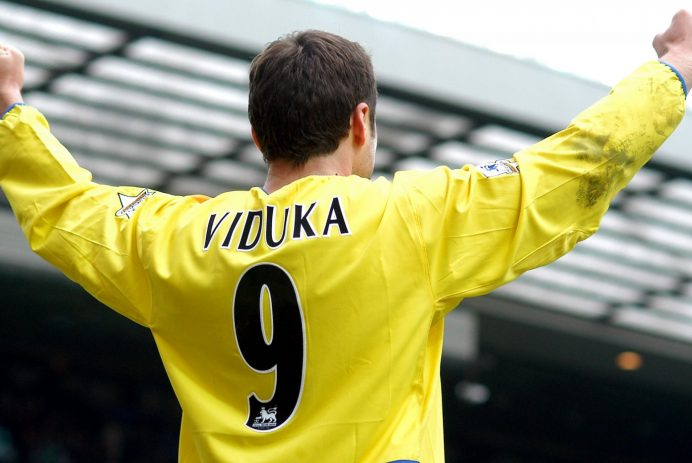 Mark Viduka Old Trafford