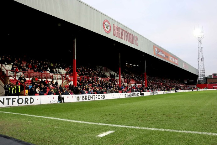 Griffin Park The Braemar Road stand
