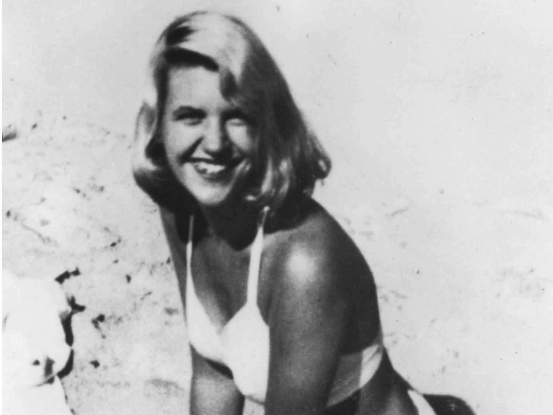 Sylvia Plath Beach Benidorm