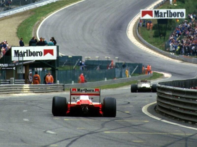 Eau Rouge GP Bélgica Spa 1988