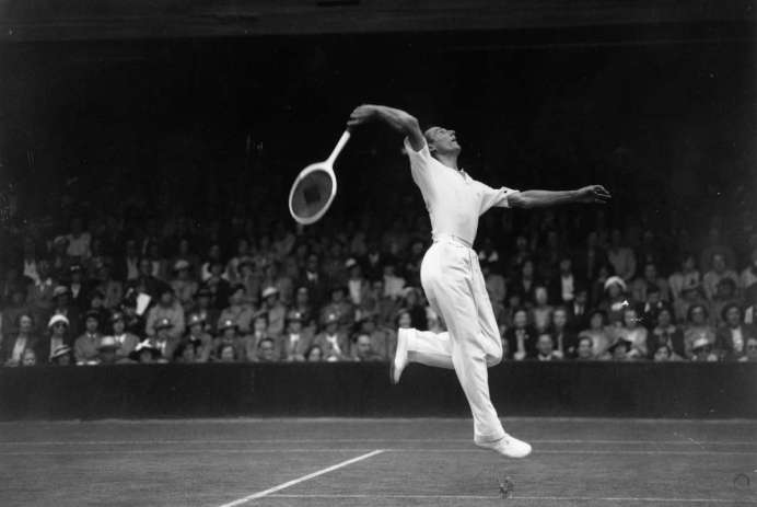 Fred Perry Wimbledon Londres 1936