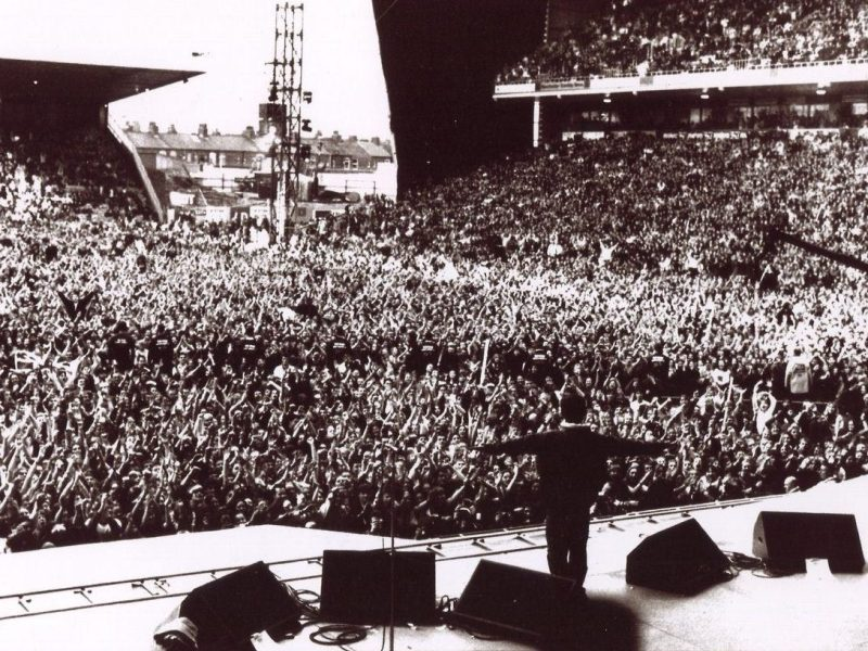 Oasis Noel Gallagher Maine Road