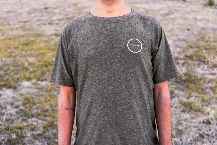 Camiseta técnica oliva Kathrine Switzer 2
