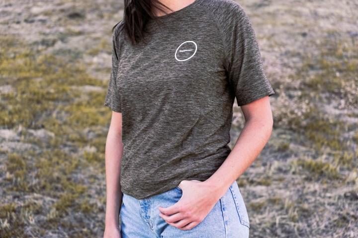 Camiseta técnica oliva Kathrine Switzer