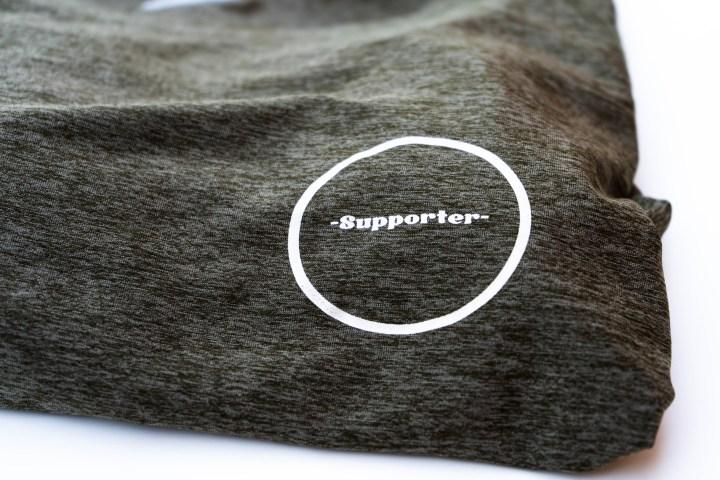 Camiseta técnica oliva Kathrine Switzer 4